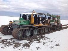 Salt Lake Auger drilling