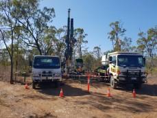 QLD gold mine drilling programmes