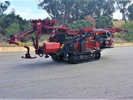 New Sonic Drill Rig