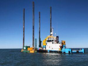 Jackup Nearshore Marine Drilling