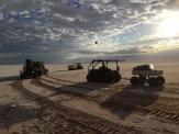 ATV x 3 on dusk
